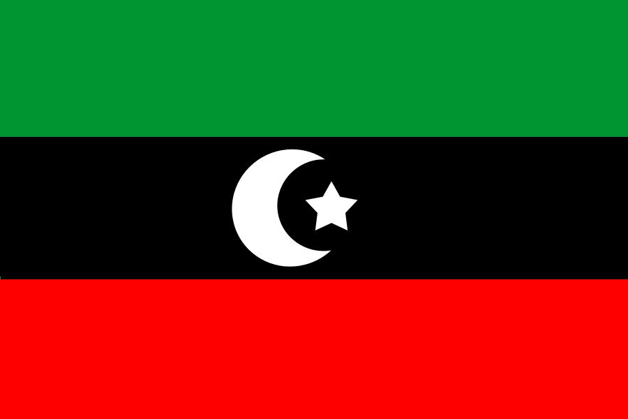 Libyen Flag